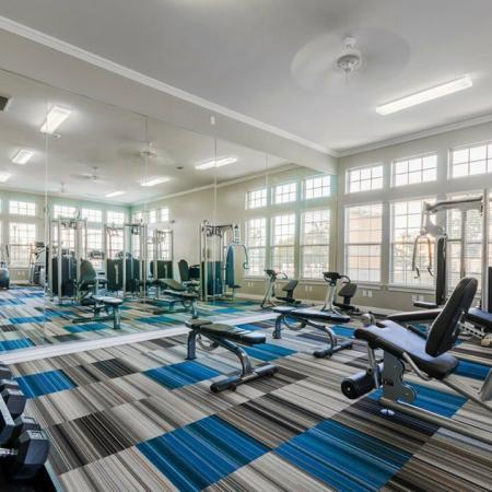 Cutting Edge Fitness Center   San Antonio Texas Apartments   The Estates at Briggs Ranch