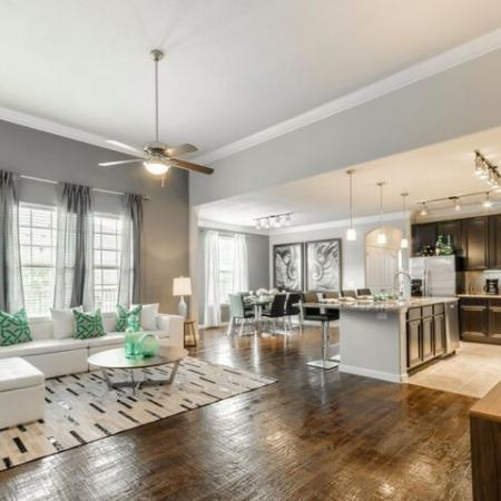 Spacious Living Room | Apartments in SAN ANTONIO | The Mansions at Briggs Ranch