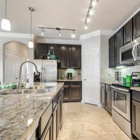 State-of-the-Art Kitchen | SAN ANTONIO Texas Apartments | The Mansions at Briggs Ranch