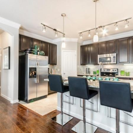 Spacious Kitchen | SAN ANTONIO Apartments | The Mansions at Briggs Ranch