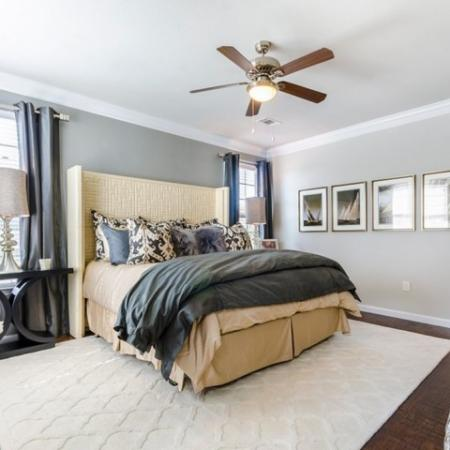 Spacious Bedroom | SAN ANTONIO Texas Apartments | The Mansions at Briggs Ranch