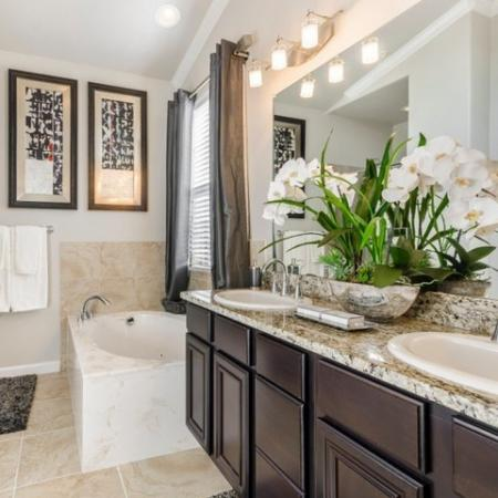 Elegant Bedroom | Apartment Homes In SAN ANTONIO | The Mansions at Briggs Ranch