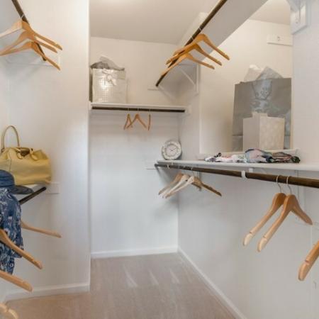 Spacious Closet | Apartments in SAN ANTONIO | The Mansions at Briggs Ranch