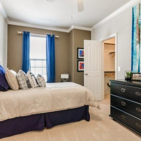 Vast Bedroom | SAN ANTONIO Apartments | The Mansions at Briggs Ranch