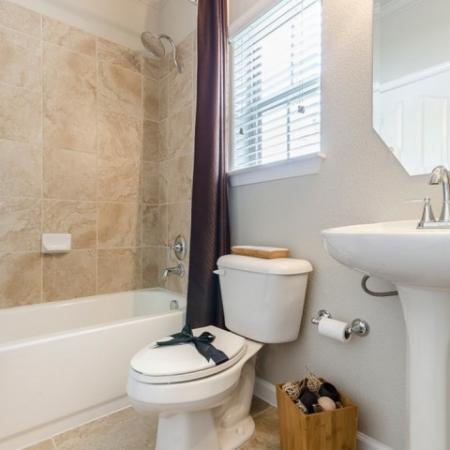 Ornate Bathroom | Apartments in SAN ANTONIO | The Mansions at Briggs Ranch