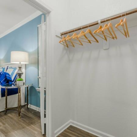 Vast Closet | MAGNOLIA Apartments | The Estates Woodland