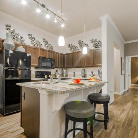 Residents Eating in the Dining Room | MAGNOLIA Texas Apartments | The Estates Woodland