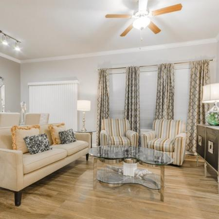 Spacious Living Area | MAGNOLIA Texas Apartments | The Estates Woodland