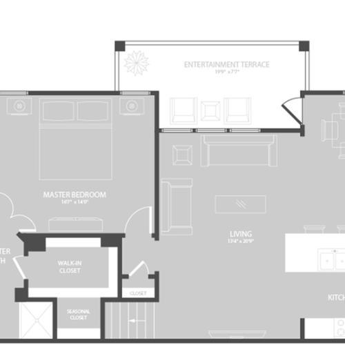4 Bedroom | Apartments In Georgetown TX | Mansions of Georgetown