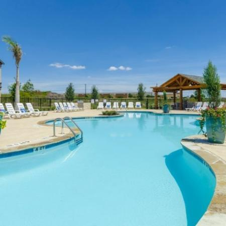 Sparkling Pool | Garland Apartments | The Mansions at Spring Creek