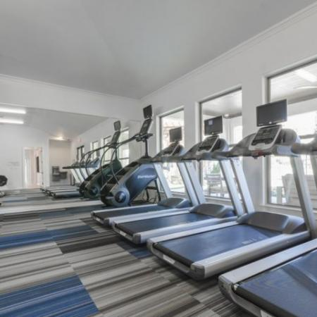 State-of-the-Art Fitness Center | Apartments Richardson Texas | The Mansions at Spring Creek