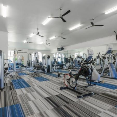 Cutting Edge Fitness Center | Apartments Garland TX | The Mansions at Spring Creek