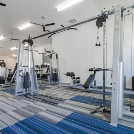 On-site Fitness Center | 3 Bedroom Apartments In Garland TX | The Mansions at Spring Creek