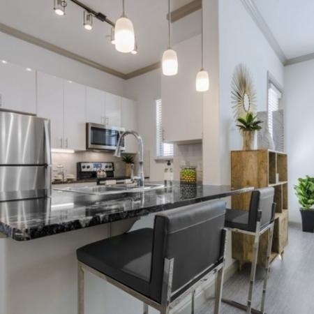 State-of-the-Art Kitchen | Apartments Garland TX | The Mansions at Spring Creek