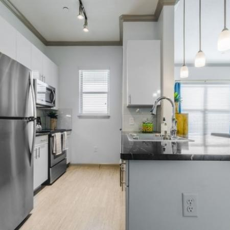 Elegant Kitchen   Apartments For Rent In Richardson Texas   The Mansions at Spring Creek