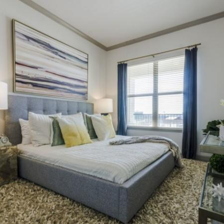 Spacious Bedroom | Apartments Garland TX | The Mansions at Spring Creek