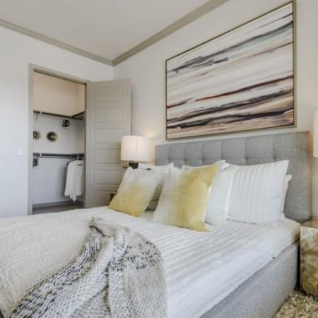 Elegant Bedroom | Apartments In Garland TX | The Mansions at Spring Creek