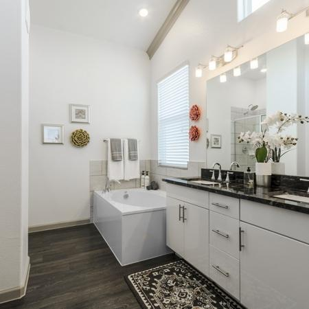 Spacious Bathroom | Apartment In Georgetown TX | Mansions of Georgetown