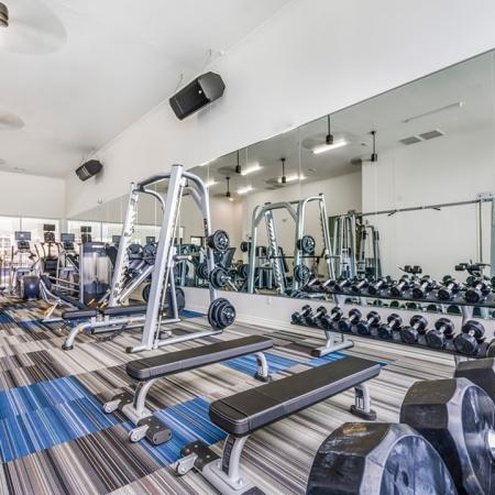 State-of-the-Art Fitness Center | Apartments In New Braunfels | The Luxe at Creekside