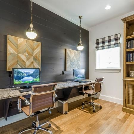 Resident Business Center | New Braunfels Apartments For Rent | The Luxe at Creekside