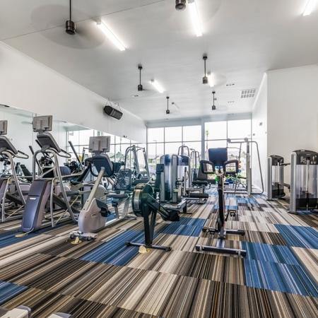 Cutting Edge Fitness Center | New Braunfels Apartments | The Luxe at Creekside