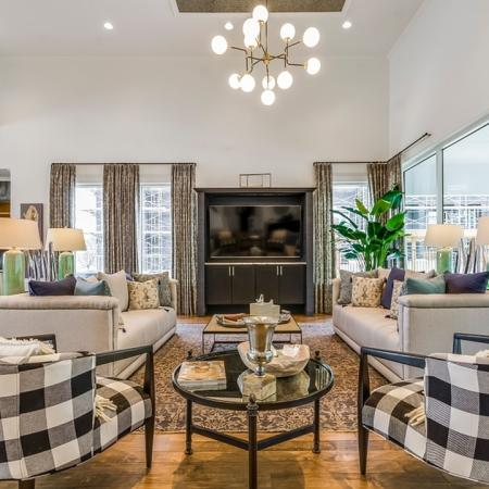 Spacious Living Area | New Braunfels Apartments | The Luxe at Creekside