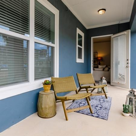 Spacious Private Patio | Apartments For Rent New Braunfels TX | The Luxe at Creekside
