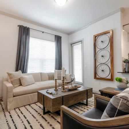Luxurious Living Room | Apartments In New Braunfels | The Luxe at Creekside
