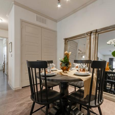 Spacious Dining Room | Apartments For Rent New Braunfels TX | The Luxe at Creekside