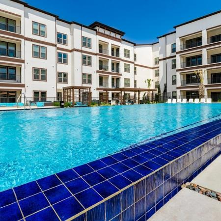 Resort Style Pool | Apartments In Garland TX | The Towers at Spring Creek