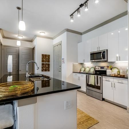 Elegant Kitchen | Apartments In Garland TX | The Towers at Spring Creek