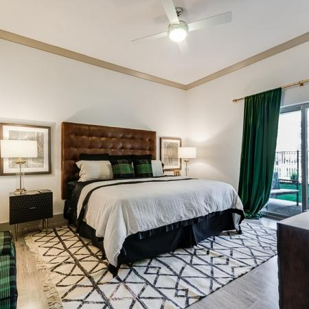 Spacious Bedroom | Apartments Garland TX | The Towers at Spring Creek