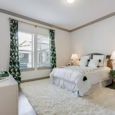 Elegant Bedroom | Apartments In Garland Texas | The Towers at Spring Creek