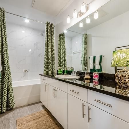 Elegant Bathroom | Apartments In Garland TX | The Towers at Spring Creek