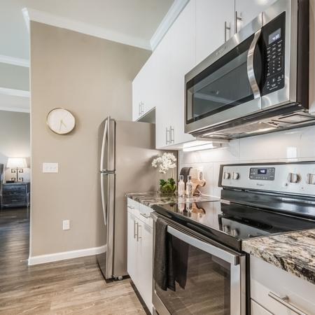 Elegant Kitchen Counters | Apartments For Rent In Richardson Texas | The Mansions at Spring Creek