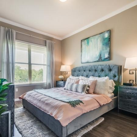 Elegant Master Bedroom | Apartments In Garland TX | The Mansions at Spring Creek