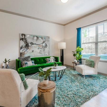 Elegant Living Area | Apartments In Garland TX | The Mansions at Spring Creek