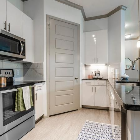 Roomy Kitchen Area | Apartments In Garland TX | The Mansions at Spring Creek