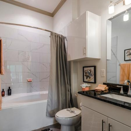 Ornate Bathroom   Apartments For Rent In Richardson Texas   The Mansions at Spring Creek