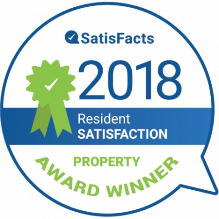 SatisFacts Resident Satisfaction Award | Luxury Apartments In Austin Texas | The Mansions at Lakeway