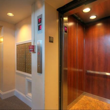 Elevator at Princeton on Beacon St. apartments in Boston MA | Elevator