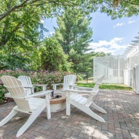 Resident Fire Pit | Nashua New Hampshire Apartments For Rent | Boulder Park