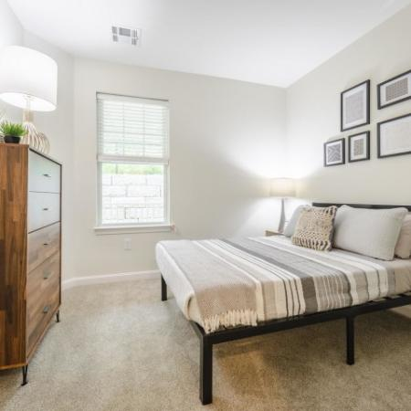 Carpeted bedroom | Chelmsford Massachusetts Apartments for Rent | Mill and 3 Apartments