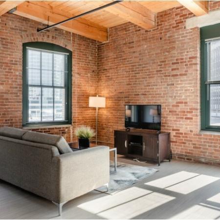 Elegant Living Room | South Boston Apartments | 381 Congress