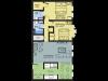 2 Bedroom Floor Plan   Apartment Nashua Nh   Boulder Park