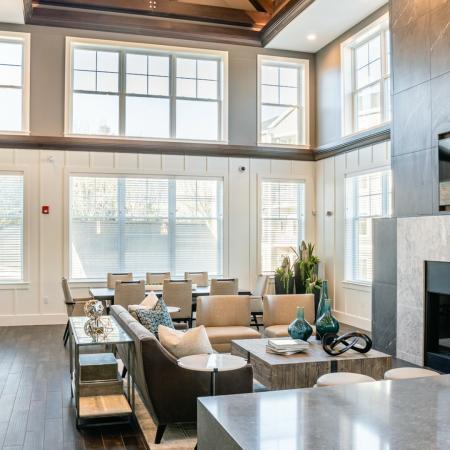 Elegant Community Club House | North Andover MA Apartments | Princeton North Andover