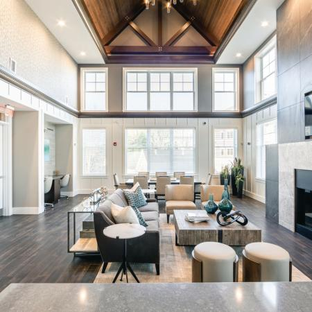 Spacious Resident Club House | Apartment in North Andover, MA | Princeton North Andover