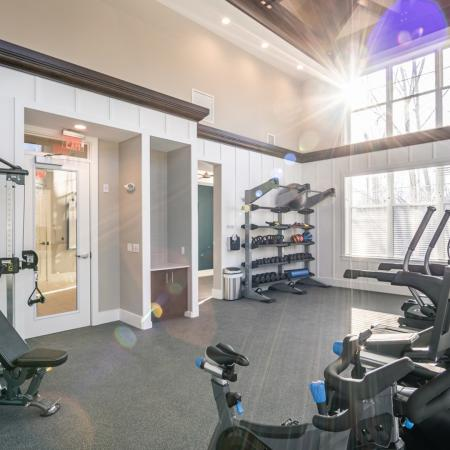 State-of-the-Art Fitness Center | Apartment Homes in North Andover, MA | Princeton North Andover