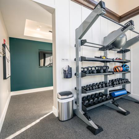Resident Fitness Center | Apartments North Andover, MA | Princeton North Andover