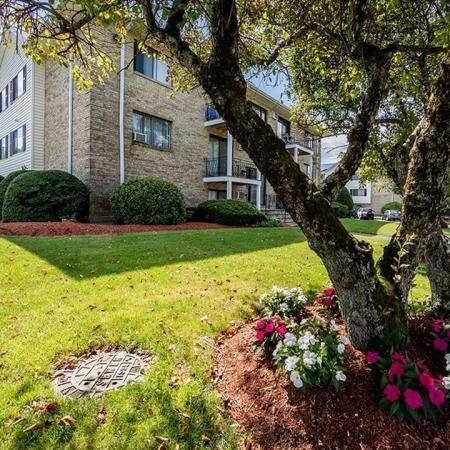 Professional landscaping within our beautiful residential community in Lowell MA